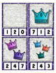 They Sparkle ~ Crown Counting to 20 Clip Cards Math Center for Preschool