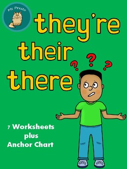 They're, Their, There Worksheets