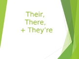 They're/they're/their Homophone Slide Show