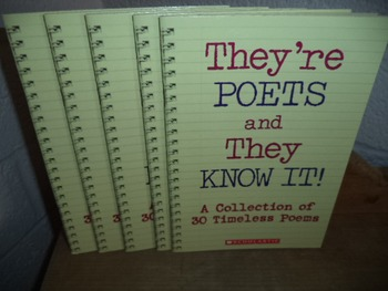 They're POETS and They KNOW IT!   (SET OF 5)