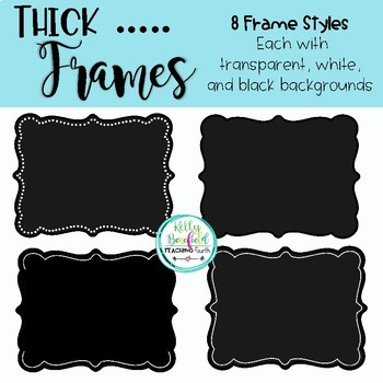 Thick Frames by Kelly Benefield