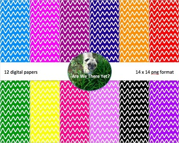 Thick Wave Digital Paper