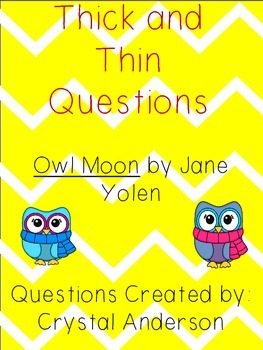 Thick and Thin Questions-Owl Moon