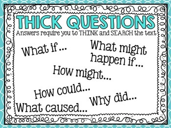 Thick and Thin Questions