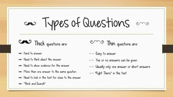 Thick and Thin Questions Presentation