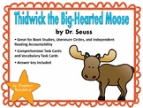 Thidwick the Big-Hearted Moose by Dr. Seuss Task Cards and