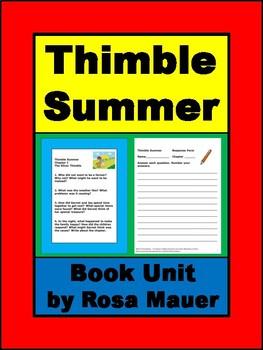 Thimble Summer Book Unit