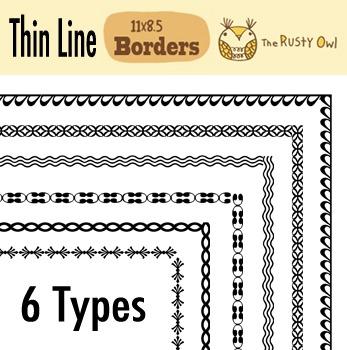 Thin Borders