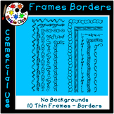 Thin Line Borders & Frames - Volume 2 - Commercial Use {Si