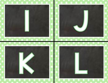 Thin Mint Leveled Letter Labels (Fountas & Pinnell Inspired) for Class Library