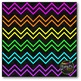 Thin Neon Chevron Digital Papers {Commercial Use Digital G