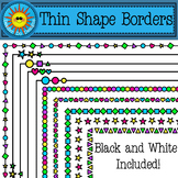 Thin Shapes Borders