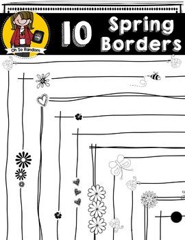 Thin Spring Borders | CU