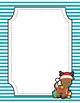 Thin Stripes Christmas Binder Covers {Editable FREEBIE}