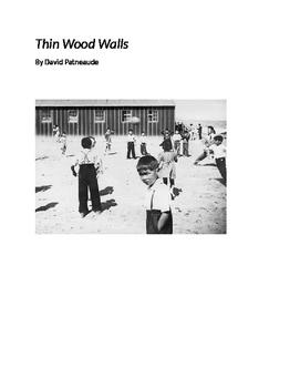 Thin Wood Walls by David Patneaude