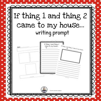 Thing 1 and Thing 2 Writing Prompt