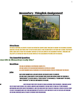 Thinglink Monastery Assignment