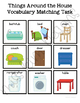 Things Around the House Vocabulary Folder Game for Special Education
