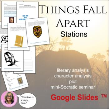 Things Fall Apart: 10 Literacy Stations: Common Core: Cultural Exploration