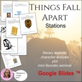 Things Fall Apart: Novel Study Literacy Stations: Common C
