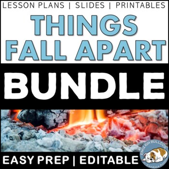 Things Fall Apart Activity Mini Bundle