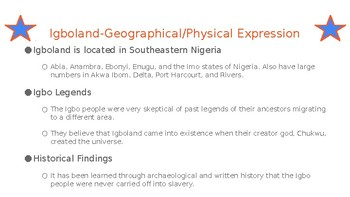 Things Fall Apart:  Background on Nigerian Culture and Religion