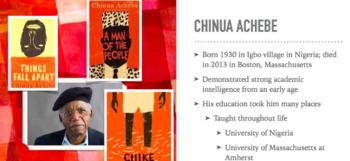 Things Fall Apart By Chinua Achebe Pre-Reading BUNDLE
