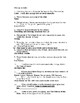 Things Fall Apart Ch. 1-10 Quiz Form A and Key