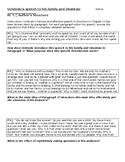 Things Fall Apart Ch. 14 Uchendu's Speech Structure