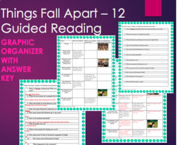 Things Fall Apart Chapter 12 Guided Reading and Critical Thinking w/ KEY -Achebe