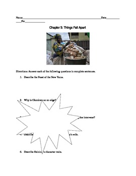 Things Fall Apart: Chapter 5 Comprehension Questions and Group Work