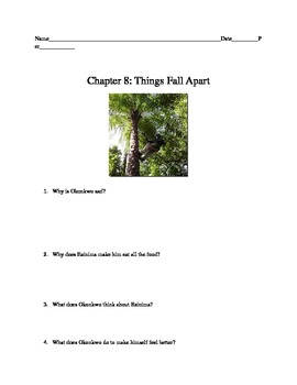 Things Fall Apart: Chapter 8 Comprehension Questions and a Talk Show
