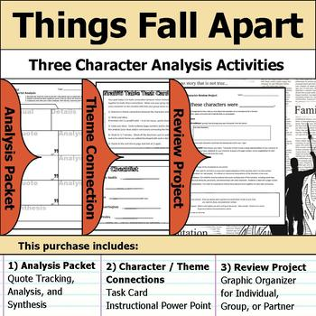 Things Fall Apart Character Analysis Packet Theme Connections