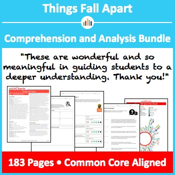 Things Fall Apart Comprehension And Analysis Bundle By Litcharts