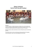 Things Fall Apart End of Novel Socratic Seminar (Discussion)