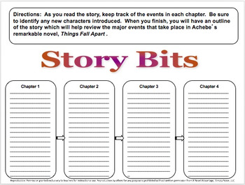 Things Fall Apart ~ Common Core Aligned Activity Bundle