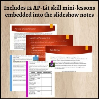Things Fall Apart Guided Reading Notes - AP Literature