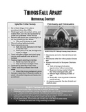 Things Fall Apart Historical Context