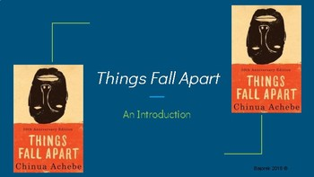 Things Fall Apart Introduction Slides With Guided Notes