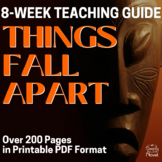 Things Fall Apart Teacher Guide - Complete Unit for Teaching Things Fall Apart