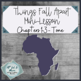 Things Fall Apart Mini-Lesson - Tone
