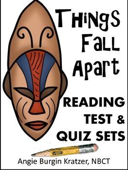 Things Fall Apart Reading Test & Quiz Sets