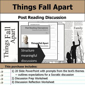 Things Fall Apart - Socratic Method - Post Reading Discussions