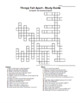 Things Fall Apart - Study Guide Summary Crossword