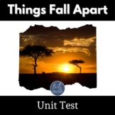 Things Fall Apart Test for AP Lit