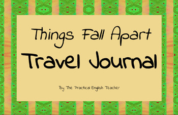 Things Fall Apart Travel Journal