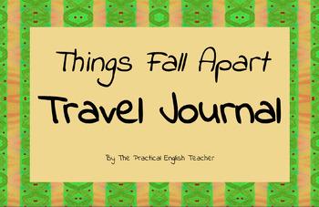Things Fall Apart Travel Journal