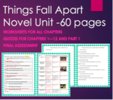 Things Fall Apart Unit Plan Bundle