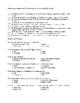 Things Fall Apart Unit Test Form B and Answer Key