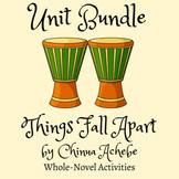Things Fall Apart by Chinua Achebe 4-Week Unit Bundle   Ac